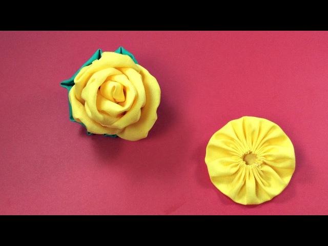ROSA de TECIDO FABRIC FLOWERS