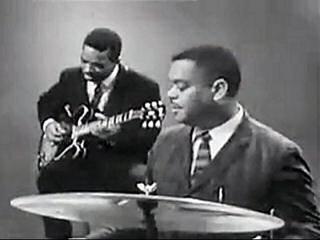 """Matt """"Guitar"""" Murphy, Billy Stepney & Memphis Slim Live at the 1963 European Blues Festival"""