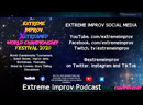 Extreme Improv XStreamed World Championship Festival: Extreme Improv Podcast with Christiane Brew