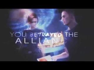 LIES   Shepard x Kaiden. [Mass Effect]