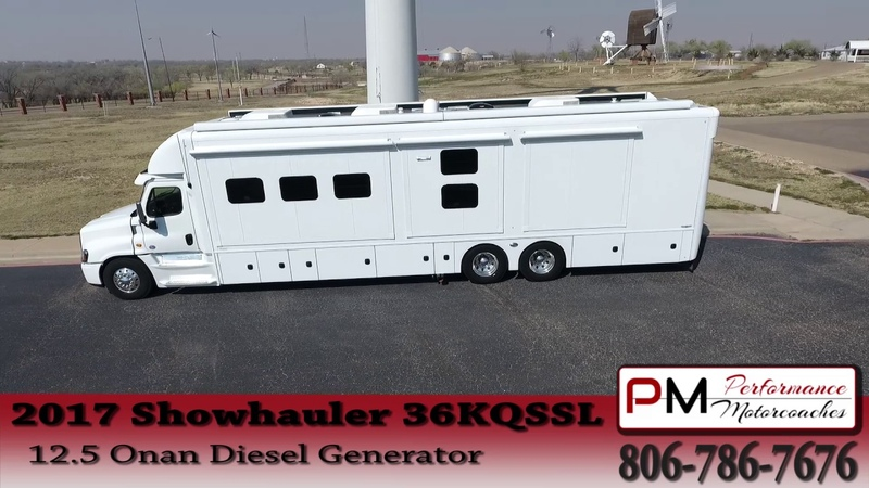 Showhauler Custom Motorhome RV Performance Motorcoaches 1639