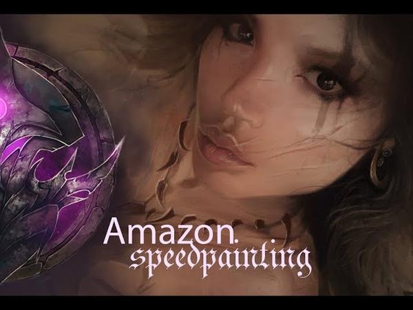 Амазонка ► speedpainting darrung illustration drawing живопись компьютернаяграфика