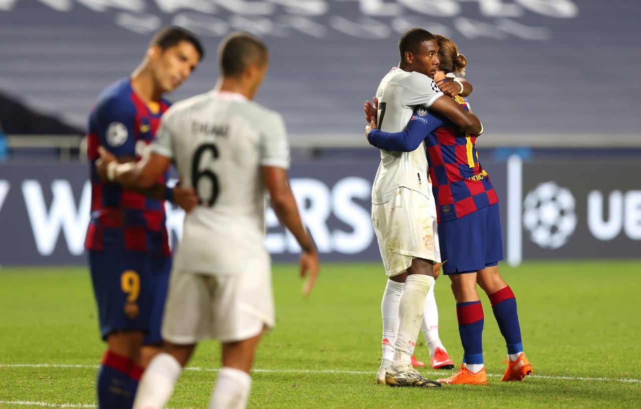 Барселона - Бавария, 2:8