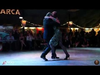 Gustavo Naveira e Giselle Anne - Sinsabor di Edgardo Donato - Roma 22 Giugno 2019
