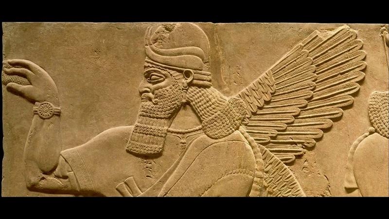 Артефакты древней Ассирии 59 Резьба по камню