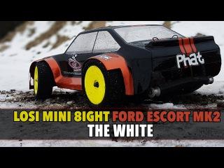 Losi Mini 8ight - Ford Escort MK2 - The White