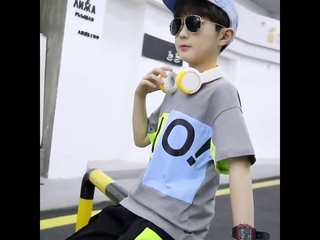 Одежда для мальчиков подростков летняя комбинированная футболка с круглым вырезом и шорты хлопковый