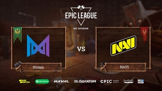 Team Nigma vs Natus Vincere - Game 3, Group Stage, EPIC League Season 2 - Online Championship 2020