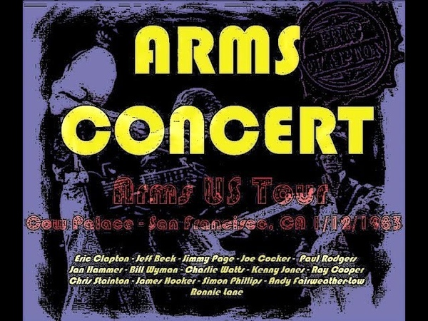 ARMS Concert - Daly City 1983 (day 1) - Jimmy Pages set