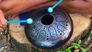 Сказочная игра на глюкофоне, meditation music Tank Drum, глюкофон слушать музыка
