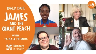 EP6: Duchess of Cornwall, Lupita Nyong'o & Josh Gad read James & the Giant Peach w/ Taika    #WithMe