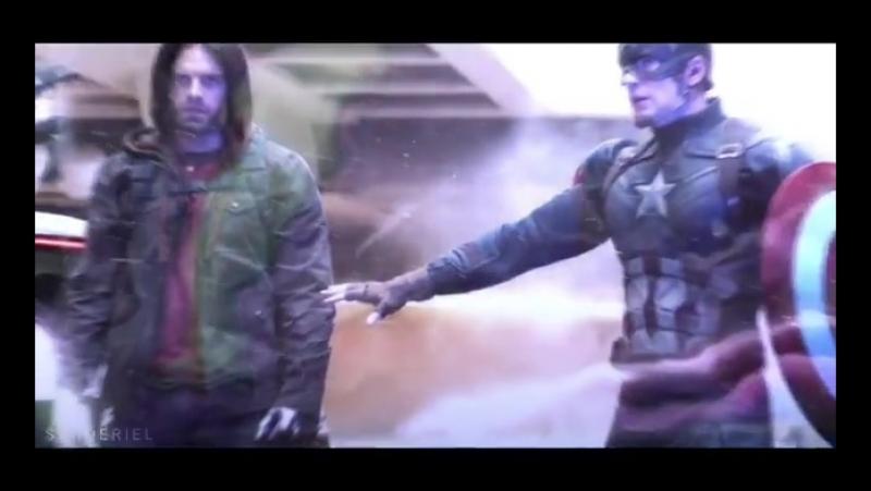 Баки Барнс / Зимний солдат (Bucky Barnes / Winter Soldier)Стив Роджерс / Капитан Америка (Steve Rogers / Captain America)