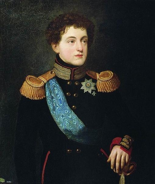 О.Кипренский. Великий князь Николай Павлович.1814 г.