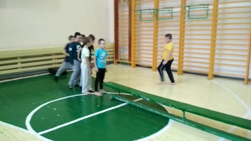 Гимнастическая лавка