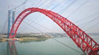 ТРУБОБЕТОН-МОСТ:L=575м:Опять рекорд: Китайцы построили самый большой арочный мост в мире