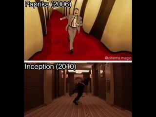 Paprika (2006) // Inception (2010)