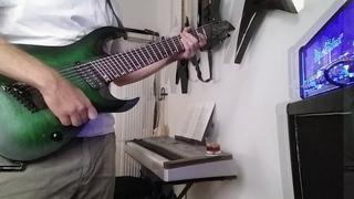 Mesmerizing Loop-Session w/ Fanned Fret 8-String