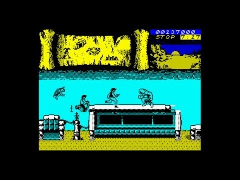 Bravestarr 128k 2020 Edition Walkthrough ZX Spectrum