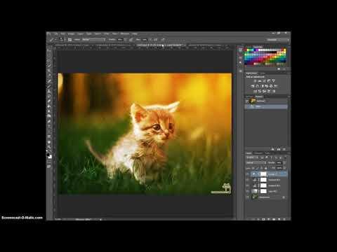 Как сделать солнечную обработку в Photoshop sunkissed effect