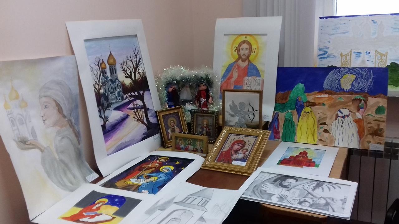 конкурс рисунков и  декоративно-прикладного творчества «МОЙ БОГ»