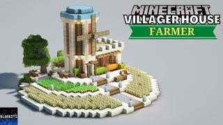 Minecraft - Farmer Desert House Tutorial - How to Build Villager House