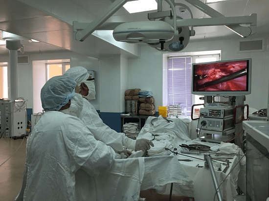 Больница города Октябрьский получила новое оборудование на 16,5 миллиона рублей
