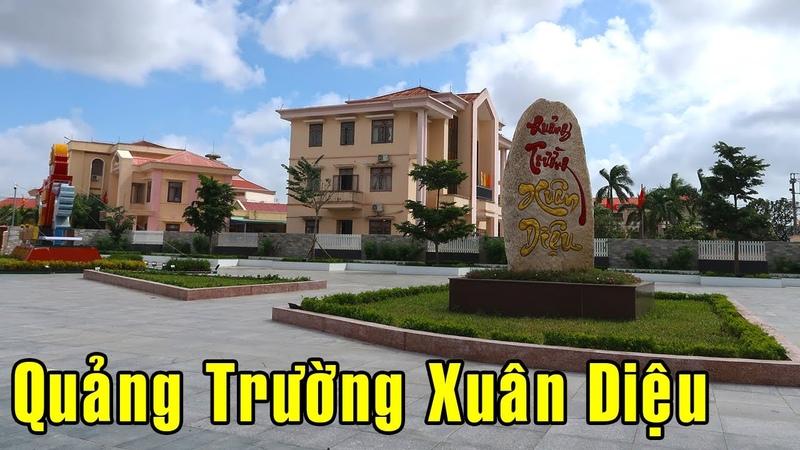 Quảng Trường Xuân Diệu tại ngã 4 Thị Trấn Tuy Phước Bình Định ngày nay