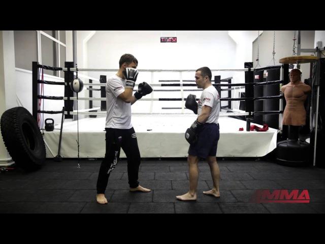 Комбинация сдвоенных ударов от чемпиона мира по боксу Дмитрия Кириллова и 4MMA