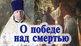 О победе над смертью. Проповедь священника Димитрия Лушникова в Лазареву субботу.