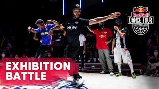 Exhibition Battle: Red Bull Dancers vs. Team Romandie | Red Bull Dance Tour Switzerland