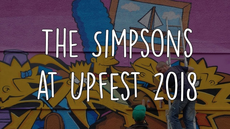 The Simpsons at Upfest 2018
