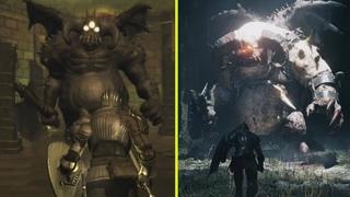 Demon's Souls Remake vs Original Early Graphics Comparison (PS5 vs PS3)