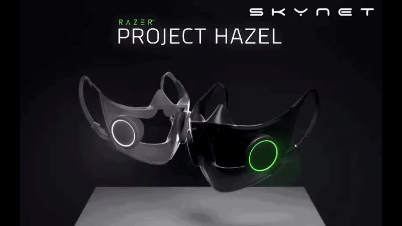 многоразовая умная маска N95 со встроенным громкоговорителем и подсветкой Chroma RGB маски mp4