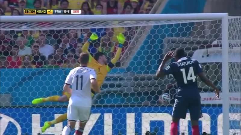 2014 FIFA World Cup - Game 57 - Quarter-finals 1 - France vs Germany (4 July 2014)