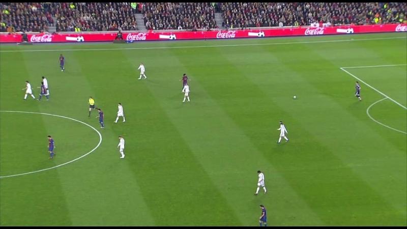 ЧИ 2006-07 | 26 тур | Барселона - Реал Мадрид | 1 тайм