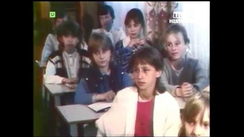 PRL 1987 Polski bałagan Gdańsk stocznia i port Szkolne problemy