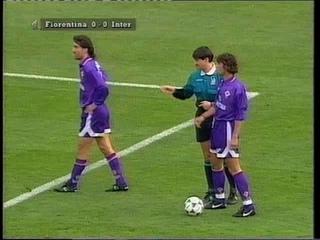 Channel 4 Football Italia Live 1995-96 Fiorentina v Inter_Peter Brackley