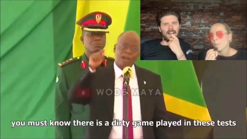 Президент Танзании Джон Магуфули от тестах на коронавирус