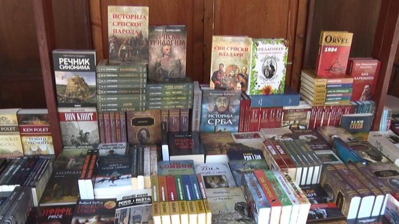 Otvorena prodajna izložba knjiga