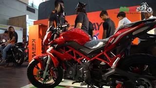 Benelli TNT 150 At Dhaka Bike Show 2018, Keeway Motorcycles At Dhaka Bike Show 2018