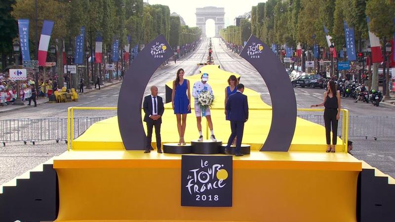 Maillot Blanc Pierre Latour Tour de France 2018