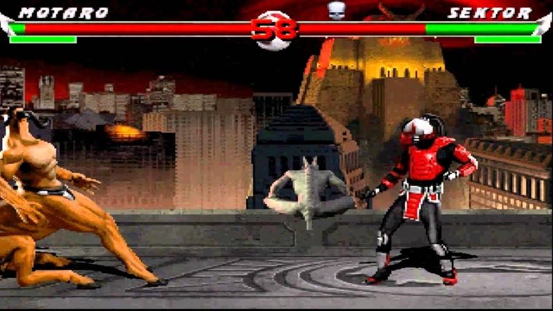Mortal Kombat: The Last Battle gameplay 2 Sektor
