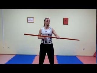 Как научиться вращать (крутить) шест! Упражнение №4.