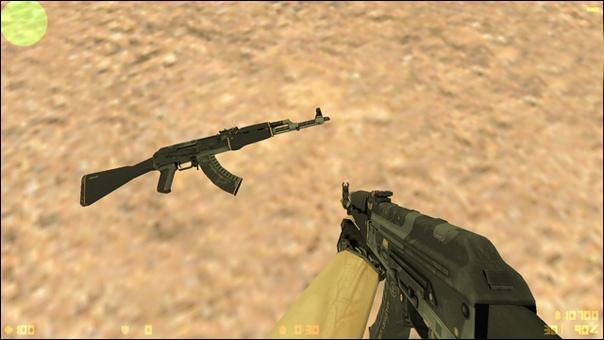Что такое V, P, W модели оружия в CS?, изображение №3