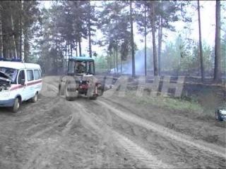 Сотни спасателей, десятки единиц техники и авиация - в выксе вновь тушат лесные пожары