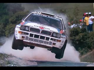 Lancia Delta Integrale. New England, max attack race.