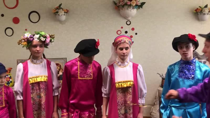 Коллектив Росток 5я адаптивная школа интернат вербное воскресенье
