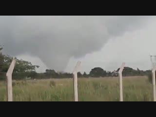Торнадо в провинции Санта-Фе, Аргентина. (12 Ноября 2018).