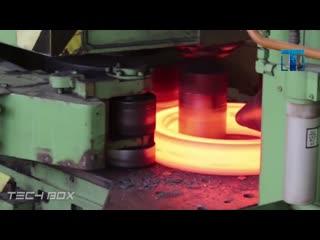 Удивительные производственные процессы с металлом