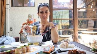 Обед в Японском Ресторане - Хлеб с Сыром - Эгине - Семейный Влог - Heghineh Vlogs in Russian